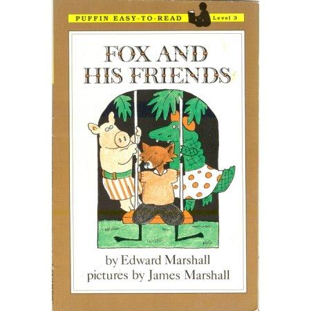 Fox and His Friends, Edward Marshall, Reader, Grade 2-3 Book