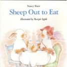 Sheep Out to Eat, Margot Apple K-1, Reader  Childrens Book