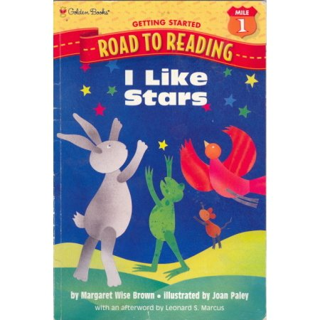 I Like Stars, Wise Brown, Early Reader Golden Books Children Preschool