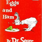 Green Eggs and Ham, by Dr. Seus, Reader Reading, Children Grades K to 2