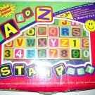 Educational Developmental Toy A to Z Stampers Age 3+ Chunkie Stamps