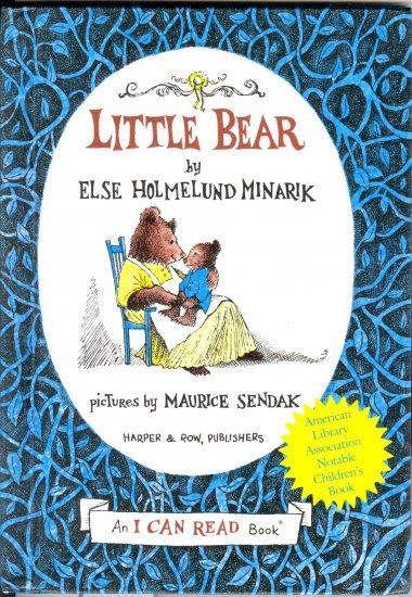 Little Bear, by Else Homelund Minarik,  An I Can Read Book, hardcover reader, Maurice Sendak