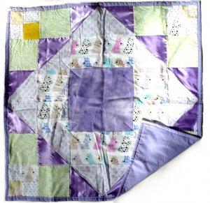 Infant SENSORY QUILT Tactile Blanket Special Needs New