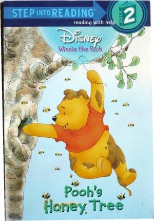 Disney Winnie the Pooh, Pooh's Honey Tree, Children Reading Reader Book, Step 2 PreK - Grade1