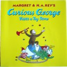 Curious George Visits a Toy Store, by H A Rey, Children Softcover Classic