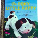 The Poky Little Puppy, by Janette Lowrey, Golden Books, Hardcover Children Picture
