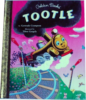 Tootle, by Gertrude Crampton, Golden Books, Hardcover Children Picture