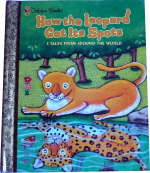 How the Leopard Got Its Spots, Golden Books, Hardcover Children Picture