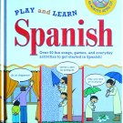 Play and Learn Spanish, Book & CD, Hardcover, Children Language