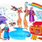 Felt Board Set, Noahs Ark, Educational Developmental Religious
