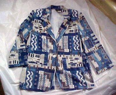 CC Magic Blended Polyester Blazer Jacket  Size: 10P