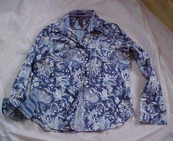 Van Heusen for Her Cotton Shirt Blouse - Size Medium