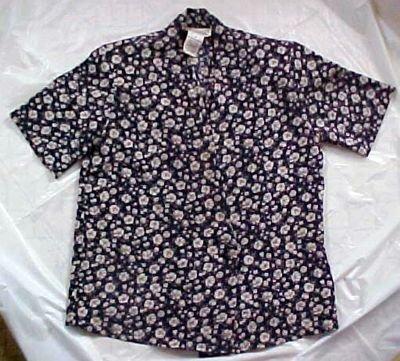Worthington Polyester Pring Shirt Blouse Size 4P
