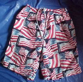 Old Navy Nylon Swim Trunks for Him - Size Small