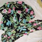 Alfred Dunner 2 PC Skirt Blouse with Faux Shell in Hawaiian Style - Size: 20WP