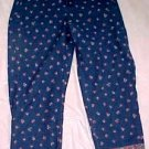 Liz Claiborne Lizwear Jeans with Floral Print & Border - Size 10