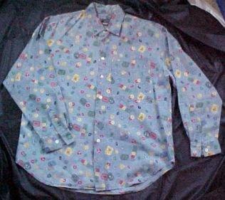 Liz Claiborne Ladies Long Sleeve Shirt Blouse - Size: Medium