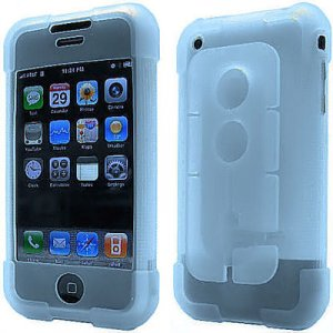 Smart Skin Case with Cord Management System  for Apple iPhone (Aqua)