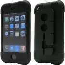 Smart Skin Case with Cord Management System for Apple iPhone (Black)