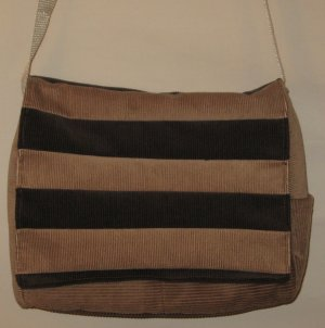 Chocolate Panel Tote Purse
