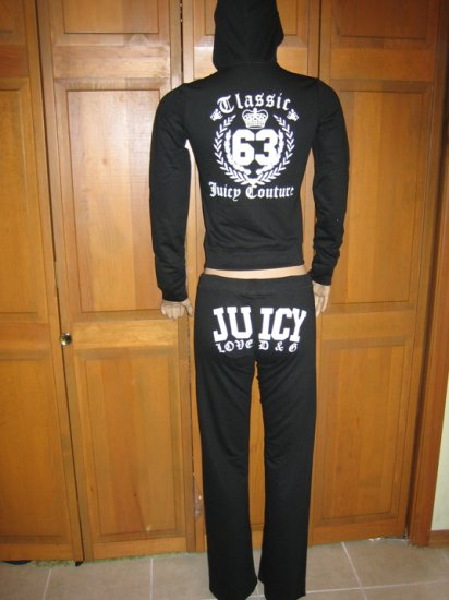 NWT Juicy Couture Classic 63 Set - Small, Medium, Large Available-Black