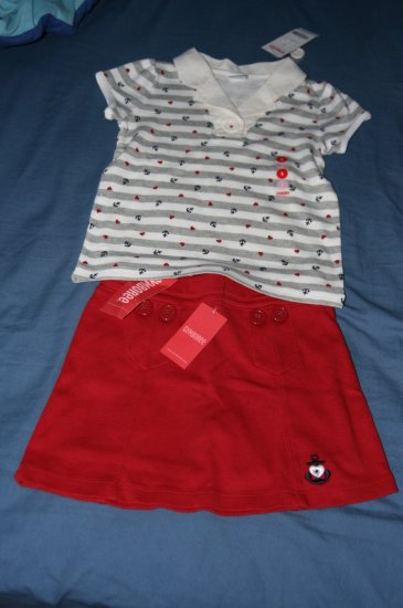 Size 5 New With Tags Gymboree Girl's summer outfit
