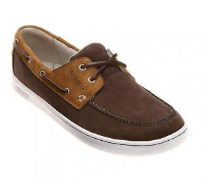 SEBAGO JEFFREYS BAY NUBUCK LT BROWN/BRPWN #B86567