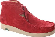 HAVANA JOE CLASSIC SUEDE CHUKKA RED