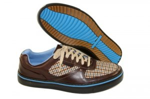 ROCKPORT DARON DARK BROWN CHECK # APM27136