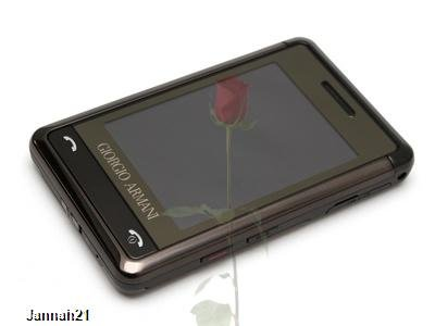 Samsung Giorgio Armani SGH-P520 Titan Gray