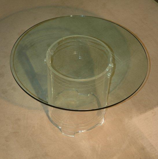 Acrylic Dining Set