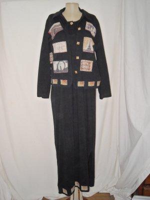 Country Wear Paris Travel Artsy Long Dress Jacket Set S