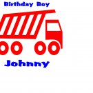 Lot of 10 Custom Personalized Birthday Party Shirts  Package Boy
