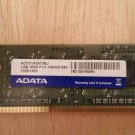 ADATA 1GB DDR3 PC3-10600S Laptop Memory - Used