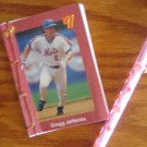 Handbound notepad featuring '91 Gregg Jeffries card
