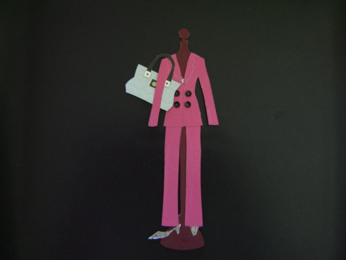 Sex and the City Paper Doll - Samantha Jones