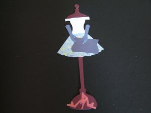 Sex and the City Paper Doll - Carrie Bradshaw