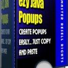 eZy Java Popups