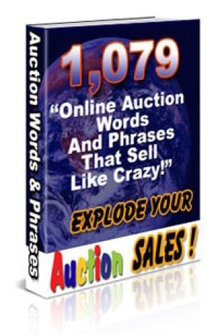 1,079 Online Auction Words And Phrases