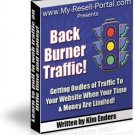 Back Burner Traffic