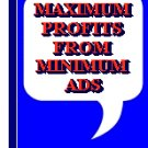 Maximum Profits From Minimum Ads