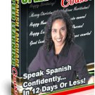 Spanish Language Speed Learning Course