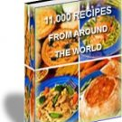 11,000 Recipes
