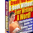 Create Your Own eBook