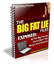 The Big Fat Lie Files (About Joint Ventures)