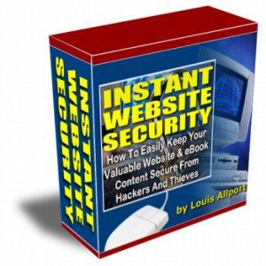Instant Website Security