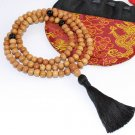 8mm Real Sandalwood Mala (Free Bag!)