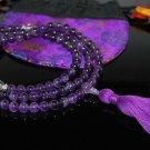 Amethyst Mala Prayer Beads