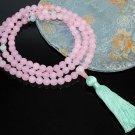 Rose Quartz Mala Prayer Beads