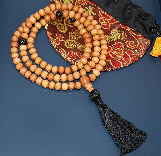 Sandalwood Mala, Sandalwood Malas, Sandalwood Prayer Beads 8mm